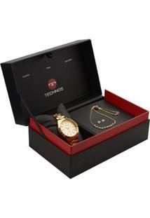 Relógio Technos Trend 2039Bi/K5T Bicolor 2039Bi/K5T - Feminino-Dourado
