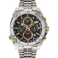 591338721b4 Relógio Bulova Masculino Aço Prateado E Dourado - 98B228