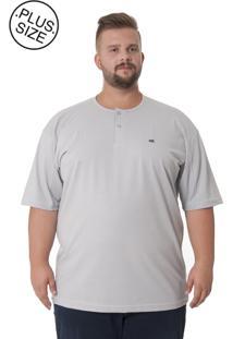 Camiseta Kairon Plus Size Cinza