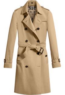 ... Burberry Trench Coat Com Abotoamento Duplo - Nude   Neutrals ebf31404132