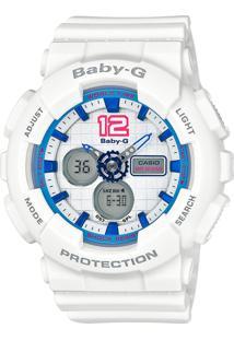 9799c271709 -2% Relógio Feminino Casio G-Shock Baby-G Analógico Digital Ba-120-7Bdr