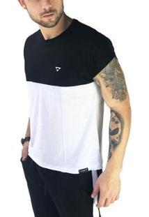 Camiseta Brohood Sleevless Masculina - Masculino-Preto+Branco