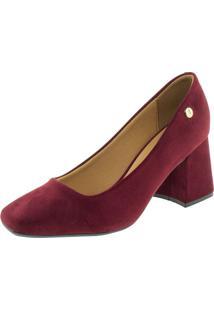 Sapato Feminino Salto Médio Vizzano - 1311101 Vinho