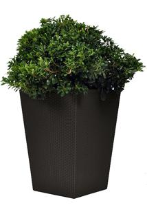 Vaso Large Rattan Plante 710223 – Keter - Marrom