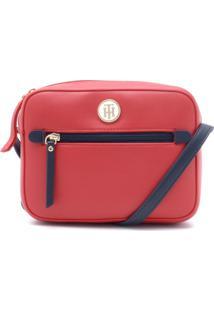 1494885e2 ... Bolsa Tommy Hilfiger Listra Vermelha