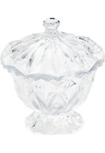 Bomboniere Cristal Louise Com Pé 16,5Cm X 18,5Cm - Unissex