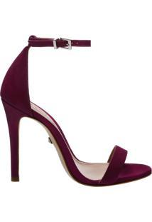 Sandália Gisele Nobuck Pink Lilac | Schutz
