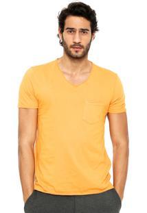 Camiseta Forum Bolso Amarela