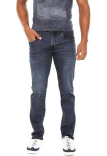 Calça Jeans Aramis Slim Stretch Azul
