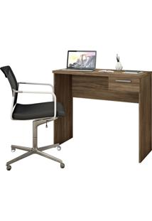 Mesa Office Nogal Trend Notável Móveis