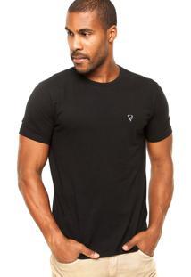 Camiseta Vr Básica Preta