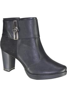 Bota Piccadilly Maxitherapy Ankle Boot Feminina