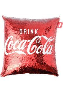 Capa Para Almofada Dupla Face Coca-Cola® - Vermelha & Prurban
