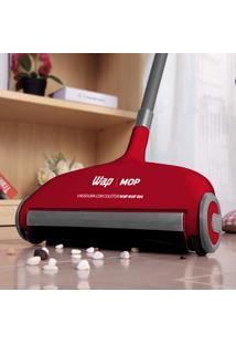 Vassoura Com Coletor Mop 500Ml Wap Vermelho