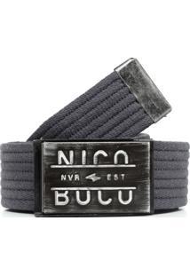 Cinto Nicoboco Basic Lead Cinza