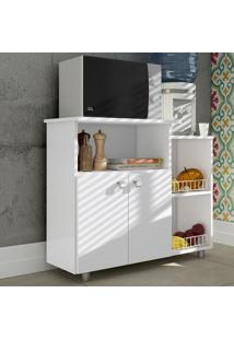 Armário De Cozinha 2 Portas C/ Fruteira Fr5091 Branco - Art In Móveis