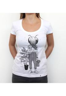 Primeiro Passo - Camiseta Clássica Feminina