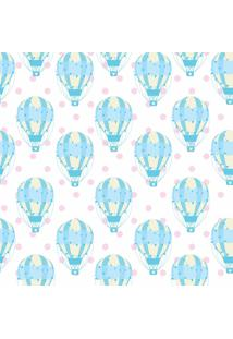 Papel Adesivo Sunset Adesivos De Parede Infantil Balões Azuis - Rolo 6,00 X0,50 M