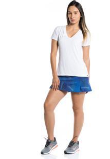 Camiseta Manga Curta Pinyx Gola V Branco