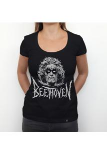 Black Beethoven - Camiseta Clássica Feminina