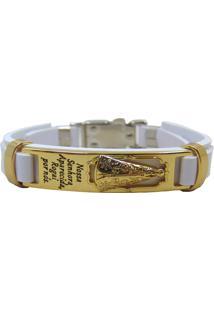 Bracelete Nossa Senhora Branco - Kanui