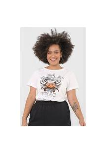 Camiseta Colcci Alma De Verão Off-White