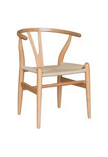 Cadeira Valentina Madeira Clara Rivatti Bege