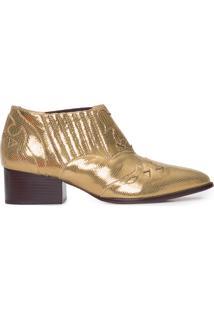 Bota Feminina Cosmic Bronze - Dourado