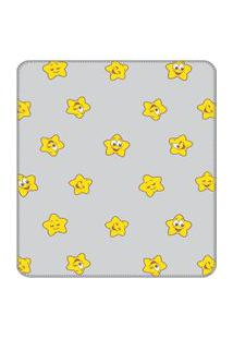 Cobertor Turma Da Mônica Baby 90 Cm X 1,10 M 100% Algodão - Estrelinha Mágica