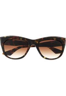 Dita Eyewear Óculos De Sol Quadrado - Marrom