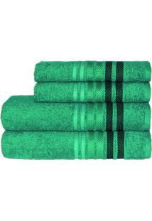 Toalha Dynamo Rosto Verde Escuro