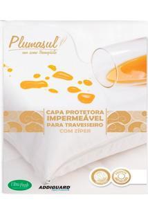 Capa Protetora Impermeável 233 Fios Para Travesseiro 1 Peça - 100% Algodão - Plumasul