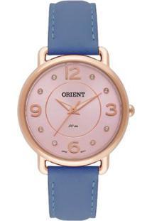 1beb02ab1fb ... Relógio Feminino Orient Analógico Frsc0006 R2Dx Do - Unissex-Azul
