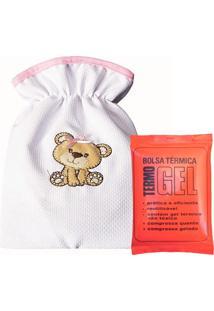Bolsa Térmica Padroeira Baby Ursa Carinho Rosa