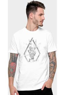 Camiseta Volcom Slim Smokin Masculina - Masculino