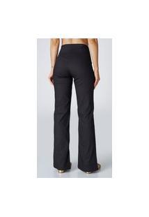 Calça Jeans Bombay Cintura Alta Social Preto
