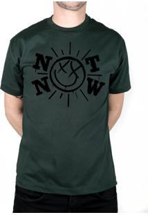 Camiseta 182Life Not Now Musgo