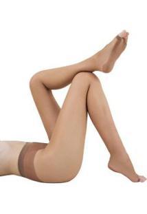 Meia-Calça Descalça Dedos Livres Solado Antiderrapante Loba Lupo (05868-001) Fio 13