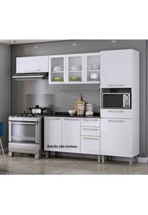 Cozinha Compacta 3 Peças Sem Balcão Dandara Itatiaia Branco