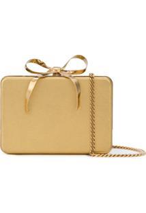 Oscar De La Renta Clutch Present Box - Dourado