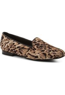 26bcd32e22 ... Mocassim Shoestock Loafer Panther Couro - Feminino-Preto+Amarelo
