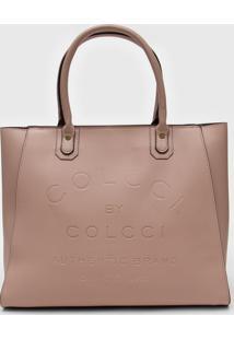 Bolsa Colcci Logo Rosa