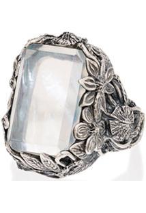 Lyly Erlandsson Anel Orsay De Prata Com Cristais - Silver