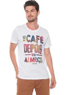 Camiseta Colcci Café Branca