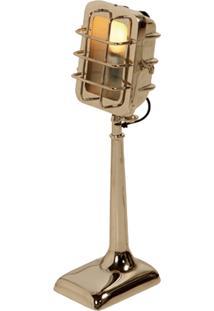 Luminária De Mesa Mice De Metal Para 1 Lâmpada Bivolt