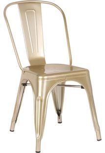 Cadeira Iron Dourado Rivatti Móveis