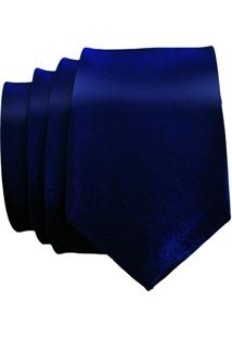 Gravata Unyforme Slim Azul Petroleo