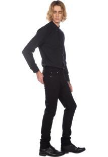 Calça Jeans Levis Masculino 510 Skinny Preto