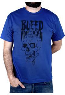 Camiseta Bleed American Bope Royal