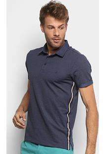 Camisa Polo Forum Listra Lateral Technicolor Premium Masculina - Masculino